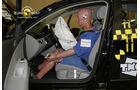 EuroNCAP-Crashtest, VW Passat, Fahrer-Crashtest