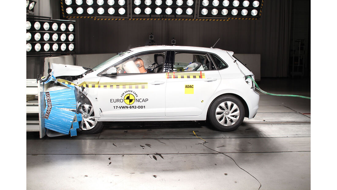 EuroNCAP-Crashtest VW Polo