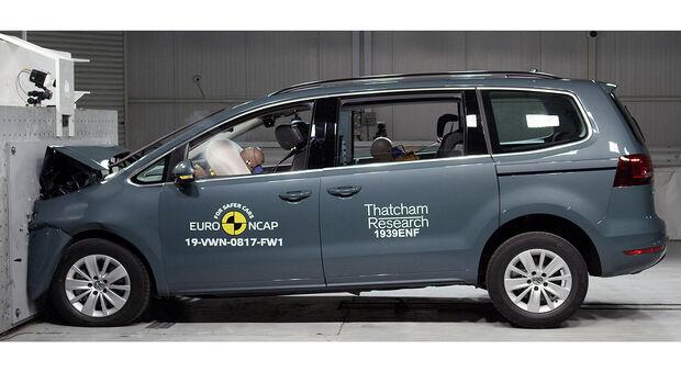 EuroNCAP Crashtest VW Sharan