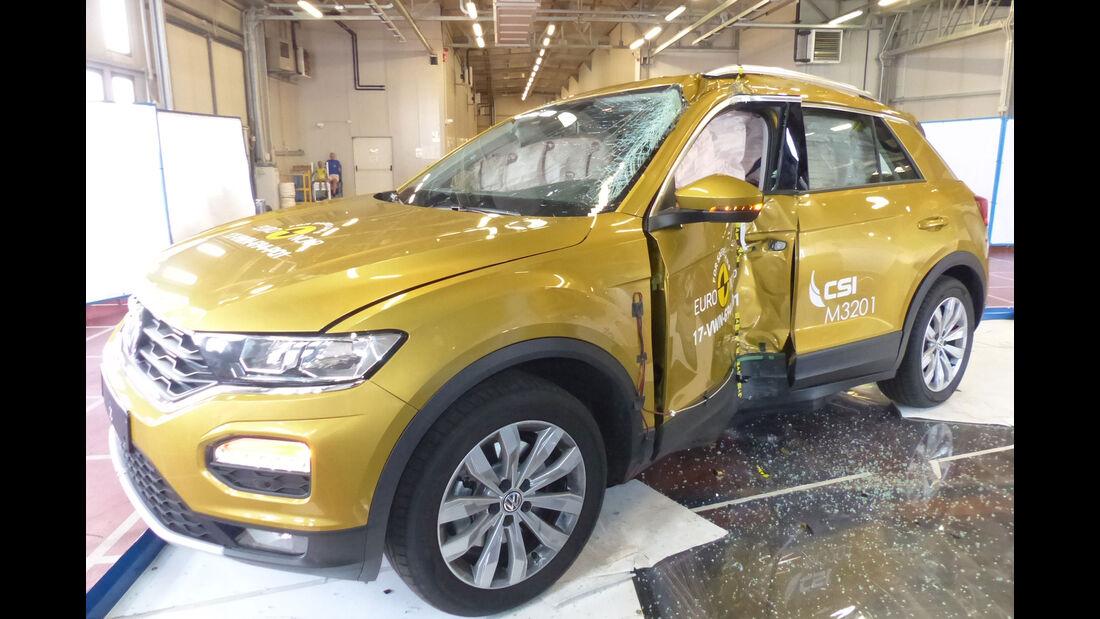 EuroNCAP-Crashtest VW T-Roc