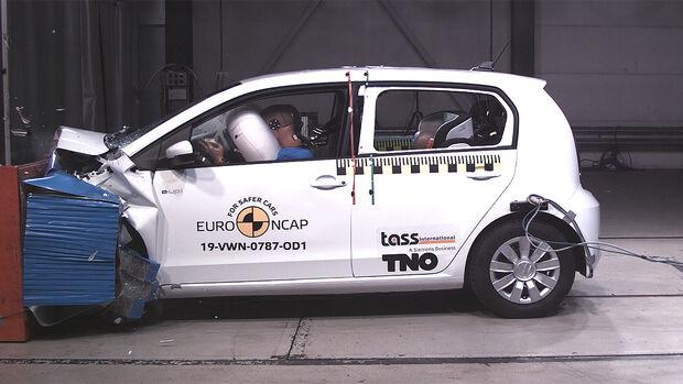 EuroNCAP Crashtest VW Up
