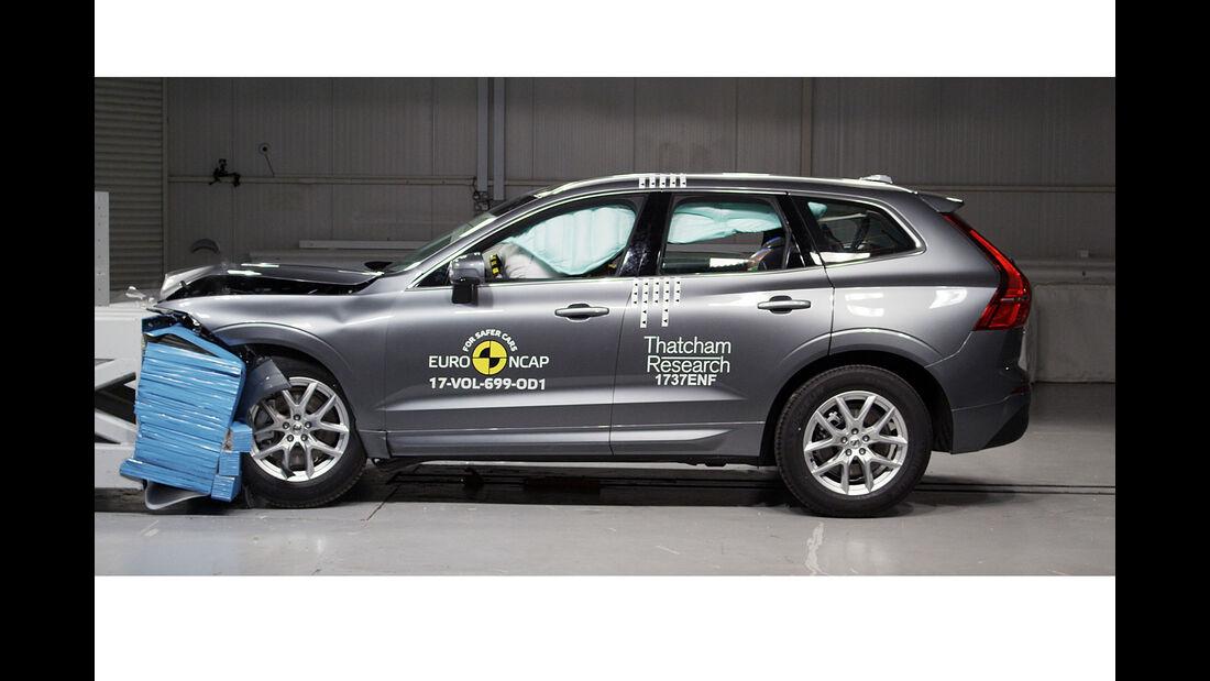 EuroNCAP-Crashtest Volvo XC60