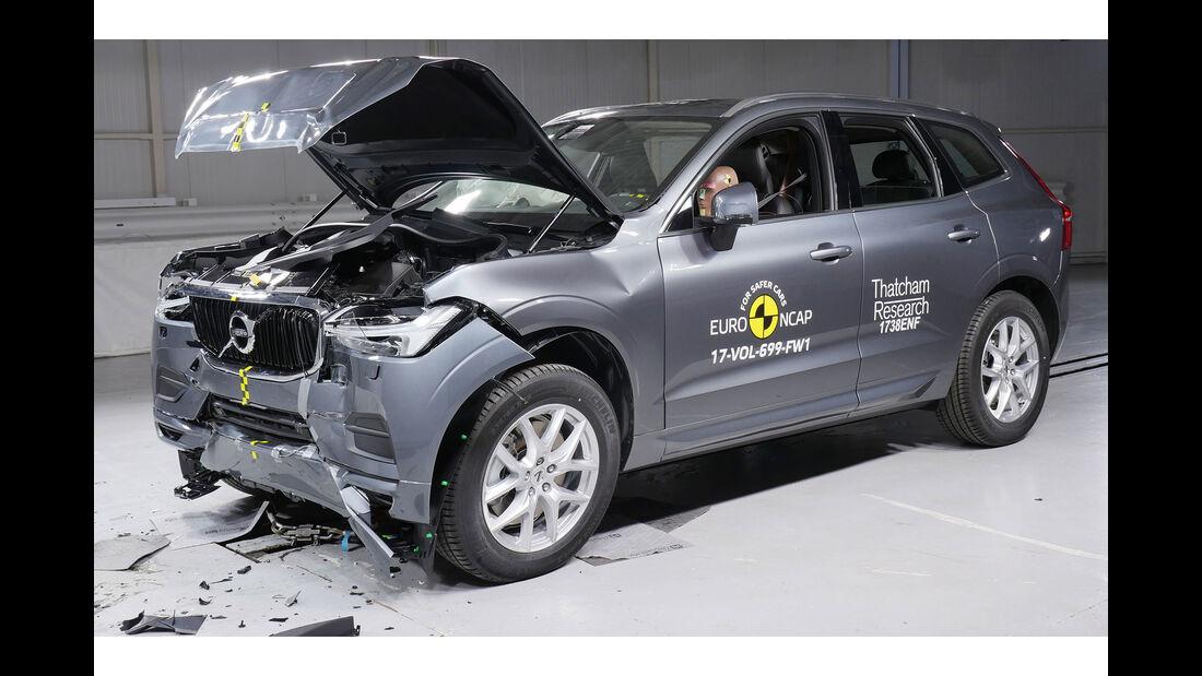 EuroNCAP-Crashtest Volvo XC63