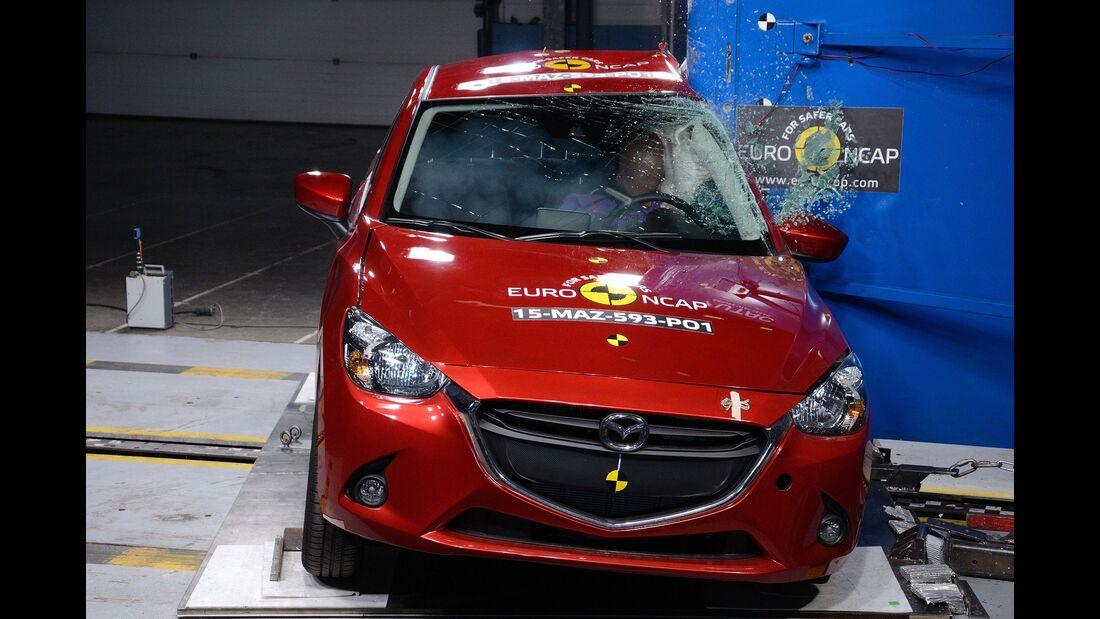 EuroNCAP Mazda 2