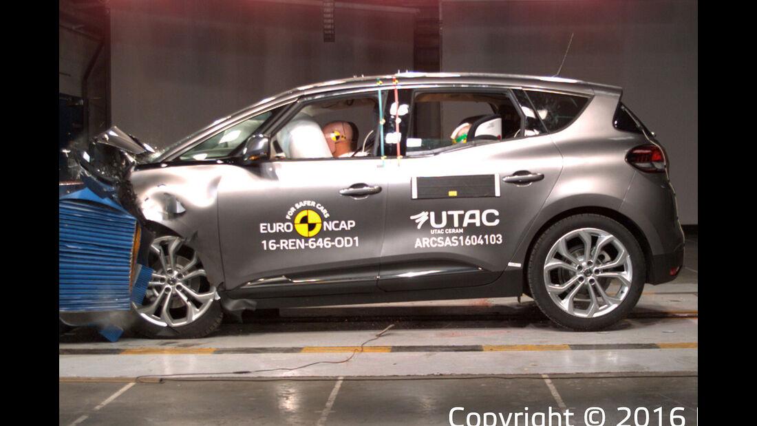 EuroNCAP Renault Scenic