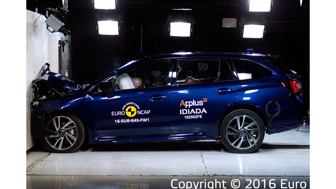 EuroNCAP Subaru Levorg