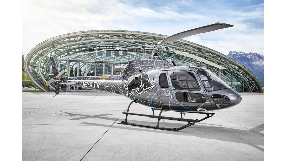 Eurocopter AS 350 - Helikopter - Red Bull