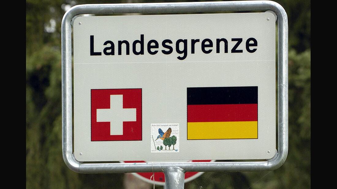 Europa Grenze Schweiz