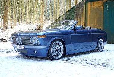 Retro-Cabrio auf BMW1er-Basis