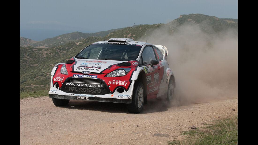 Evgeny Novikov Rallye Italien 2012 WRC