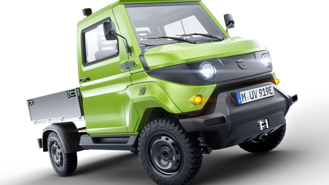 Evum aCar Elektro Lkw EU-Version IAA 2019