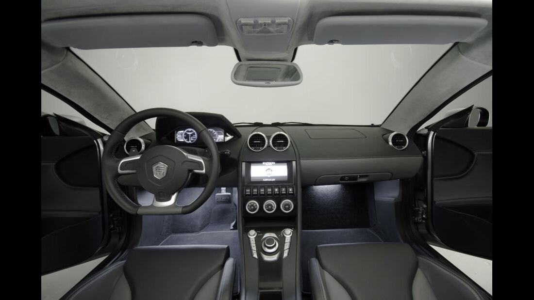 Exagon Engineering Furtive-eGT, Cockpit, Innenraum