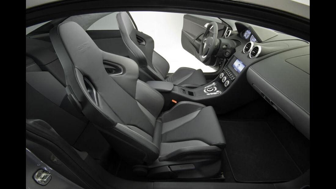Exagon Engineering Furtive-eGT, Sitze, Innenraum