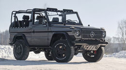 Expedition Motor Company Mercedes 250 GD Wolf Restomod