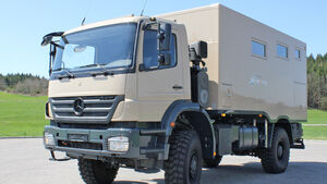 Exploryx Nyala Expeditionsmobil Mercedes Axor 1829