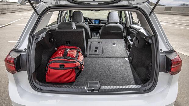 Extra VW Golf 2020, Kofferraum