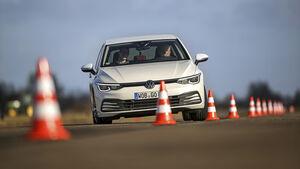 Extra VW Golf 2020, Slalom
