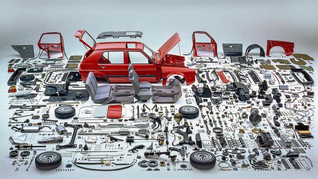Extra VW Golf 2020, Teile