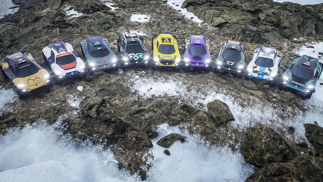 Extreme E - Rennserie - Elektro - E-SUV