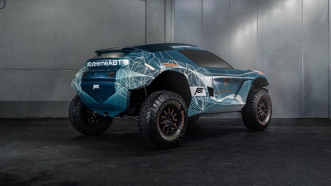 Extreme E - Rennserie - Elektro - E-SUV - ABT