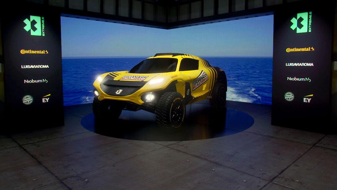 Extreme E - Rennserie - Elektro - E-SUV - Chip Ganassi