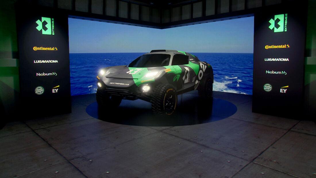 Extreme E - Rennserie - Elektro - ODYSSEY - E-SUV