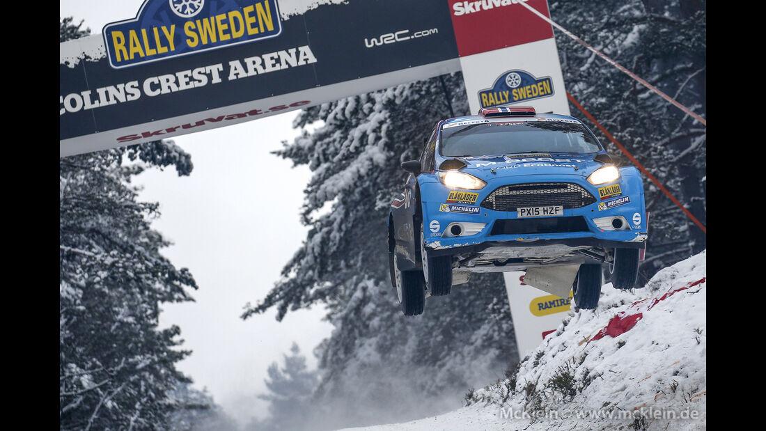 Eyvind Brynhildsen - Rallye Schweden 2016