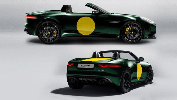 F-Type Jaguar Lister LFT-C Cabrio