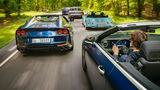 FŸnf sportliche Cabrios, Exterieur