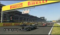 F1 2015 - GP Mexiko - Simulation