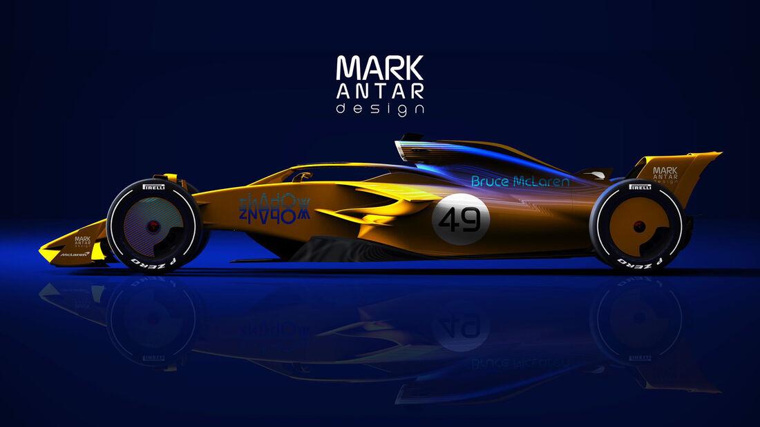 F1 2021 Concept - Mark Antar Design