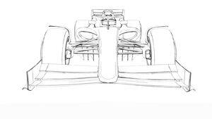 F1 2021 - Modell Juli 2019