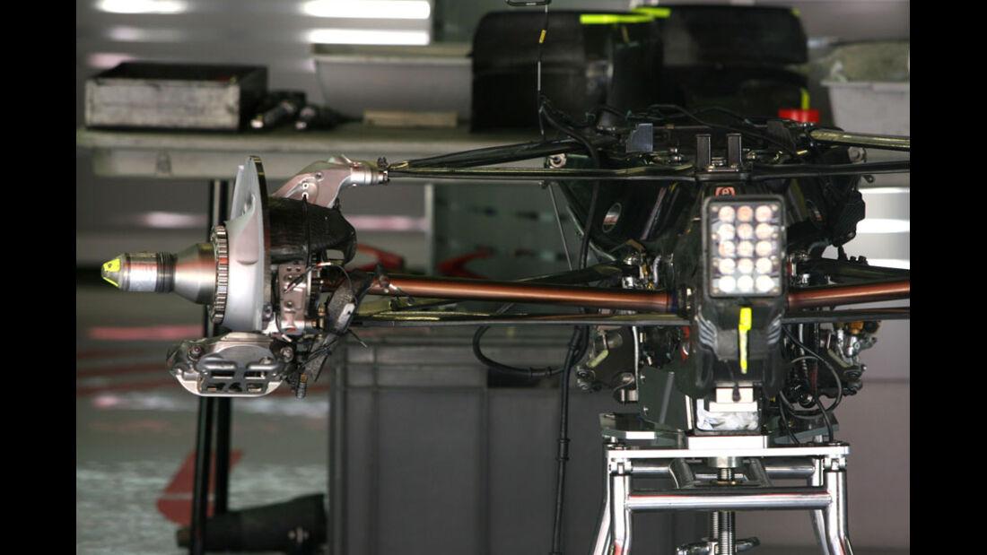 F1-Aufhängung