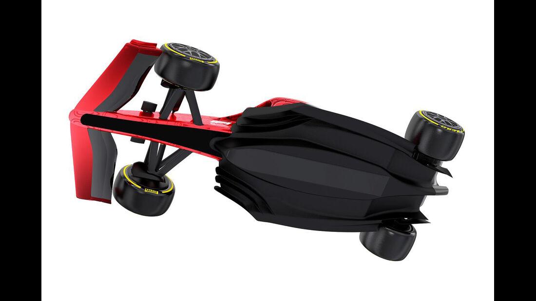 F1-Auto 2021 - Offizielle Bilder