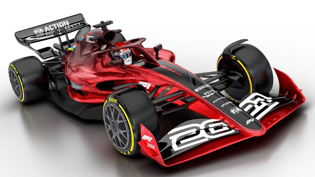 F1 Auto 2021 - Offizielle Bilder