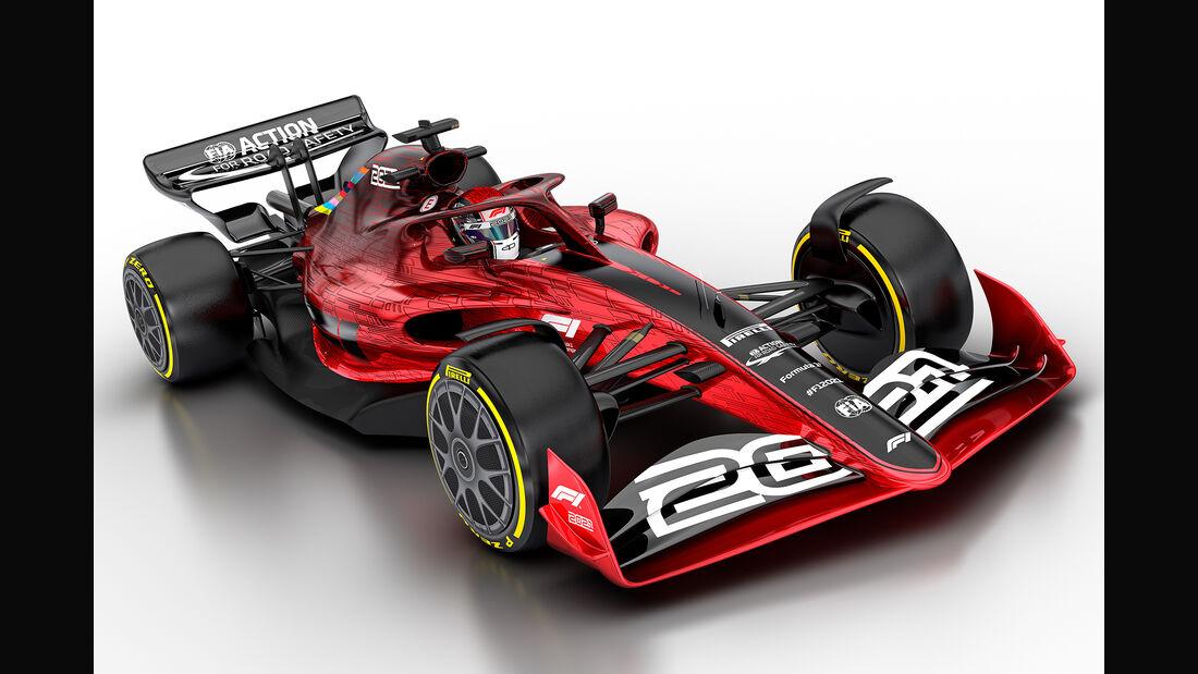 Formel 1 Autos 2021 Bilder