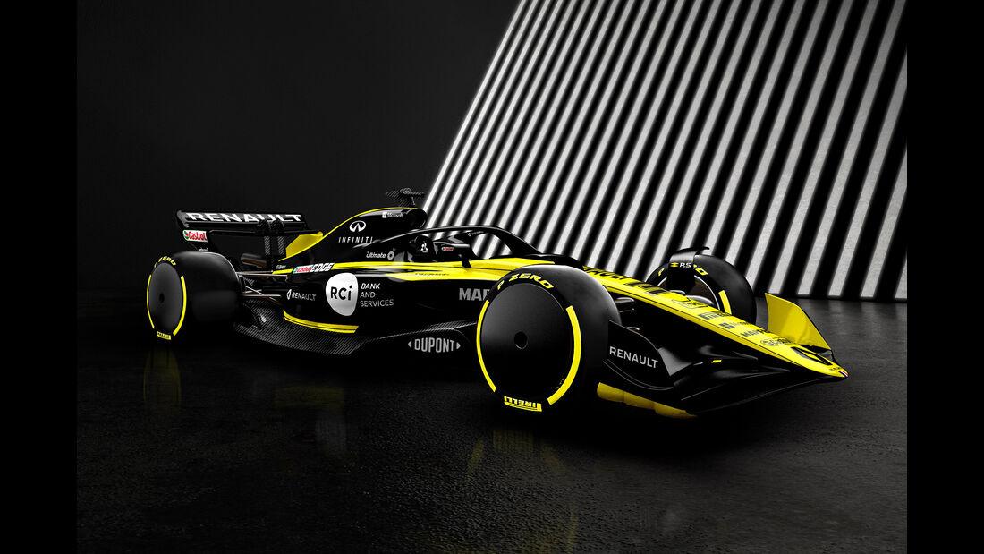 F1 Auto 2021 - Renault