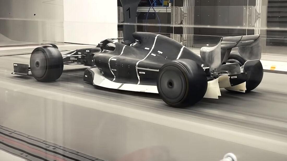 F1-Auto 2021 - Windkanal - 2019