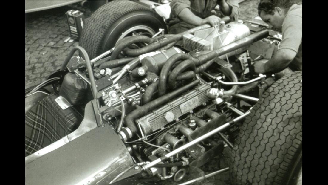 F1 BRM 16 Zylinder 1966