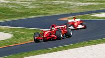F1 Clienti, Ferrari, Rennszene