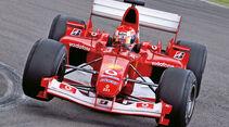 F1 Clienti, Ferrari, Wagen