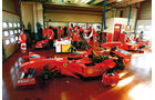 F1 Clienti, Werkstatt