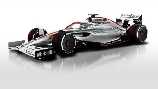 F1-Concept 2021 - Porsche - Sean Bull
