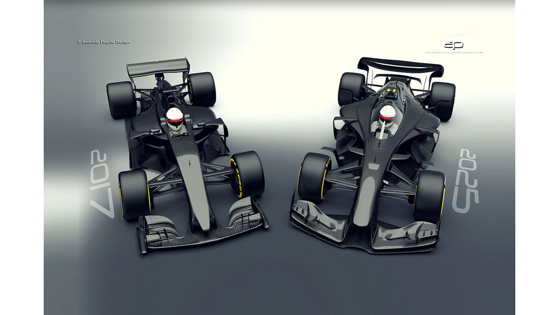 F1 Concept - Antonio Paglia - 2017