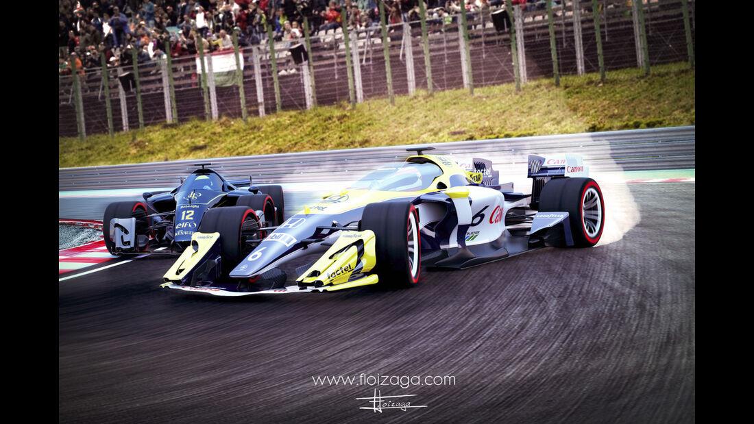 F1 Concept - Floren Loizaga