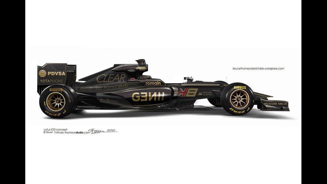 F1 Designs 2015 - Lotus - Bruce Thomson