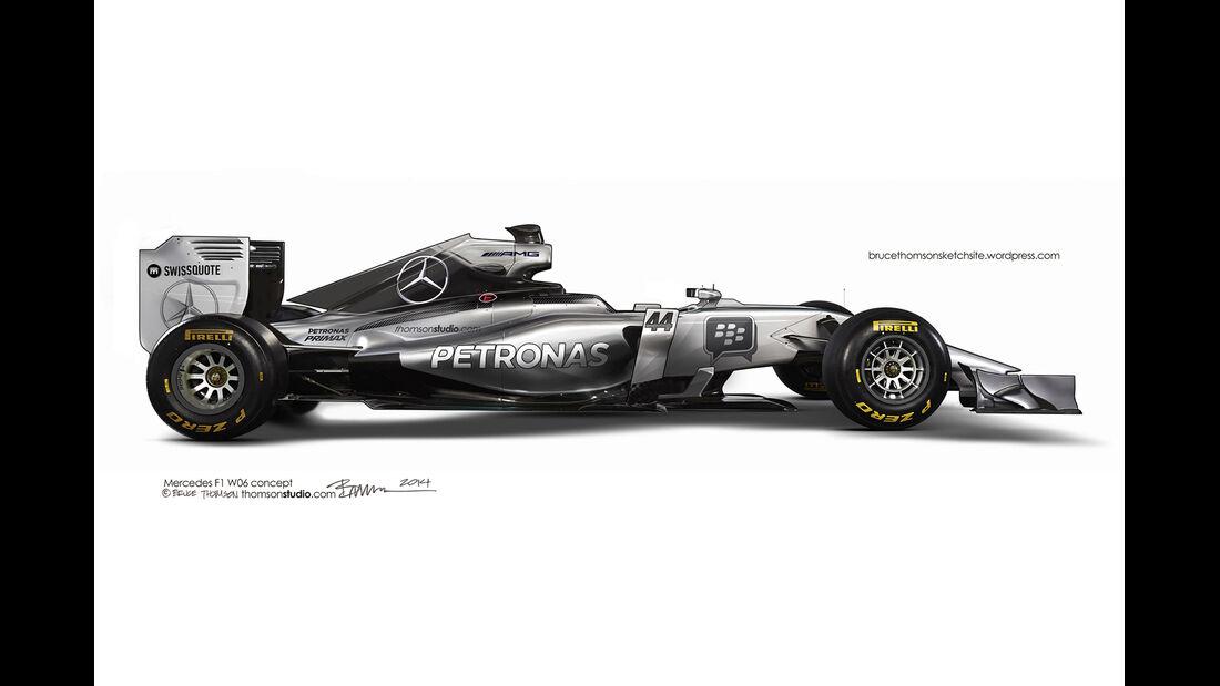F1 Designs 2015 - Mercedes - Bruce Thomson