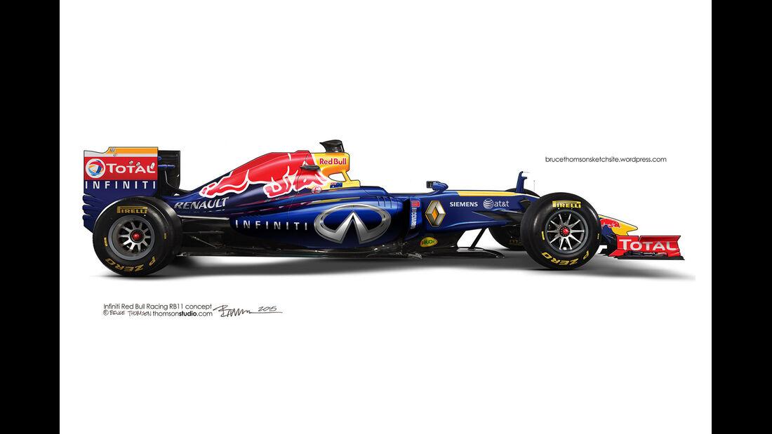 F1 Designs 2015 - Red Bull - Bruce Thomson