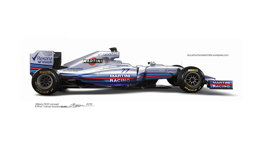 F1 Designs 2015 - Williams - Bruce Thomson