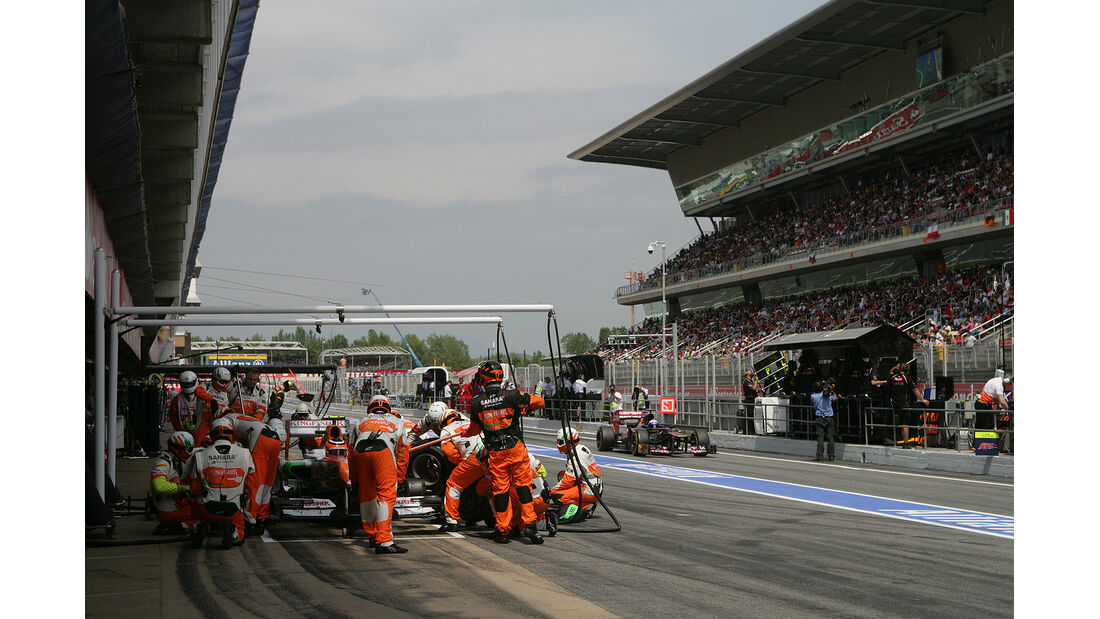 F1 Die Boxenstopp-Könige